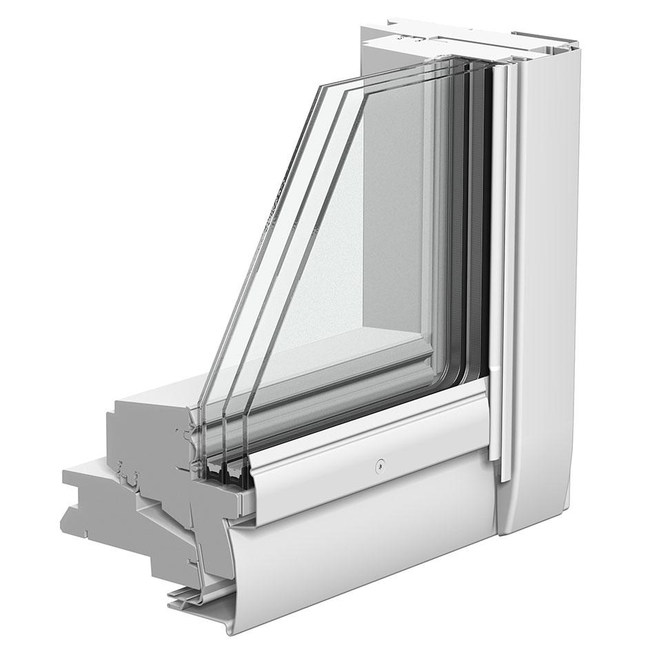 Finestre per tetti velux con apertura a bilico for Finestre velux manuali