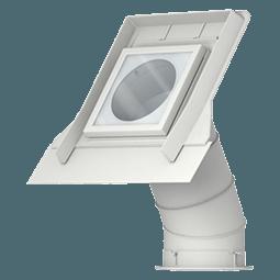 Finestre con apertura a vasistas velux vista indisturbata for Finestre velux istruzioni telecomando
