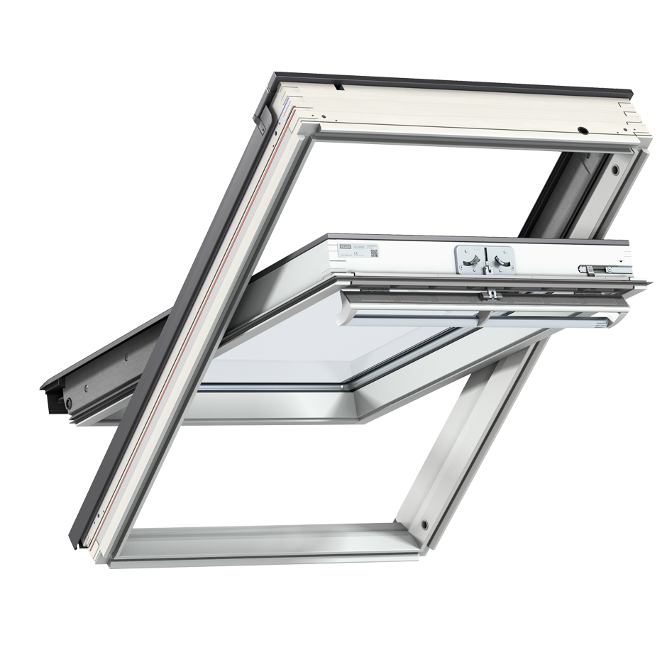Velux roof windows flat roof windows sun tunnels and - Velux ggl 4 ...