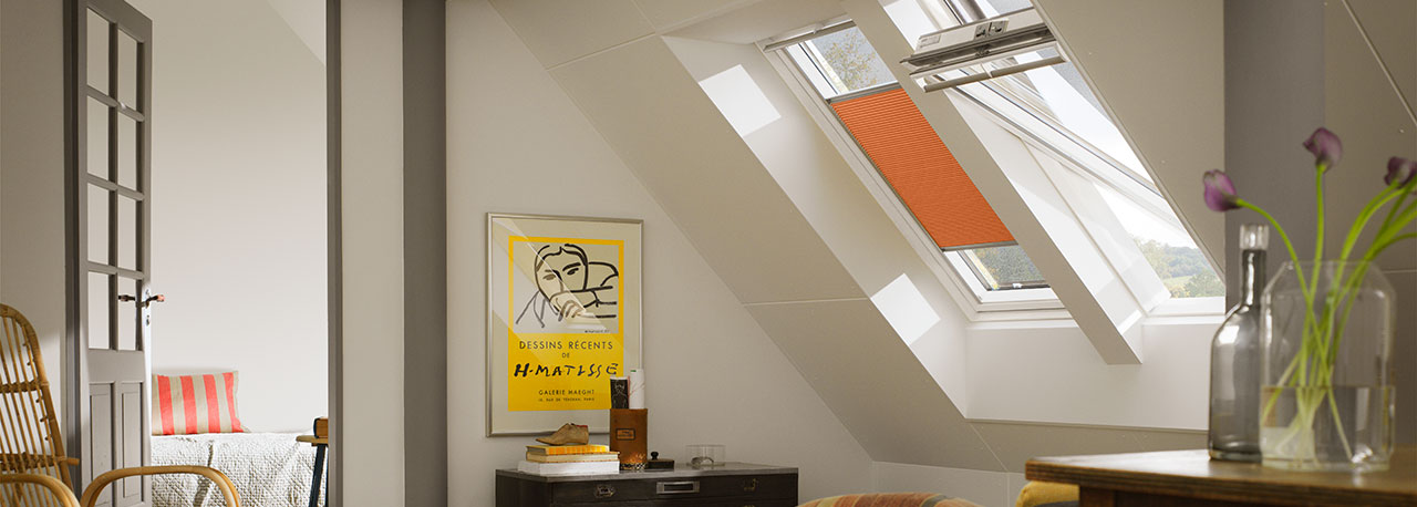 Velux Centre Pivot Roof Windows Easy To Open Easy To Use