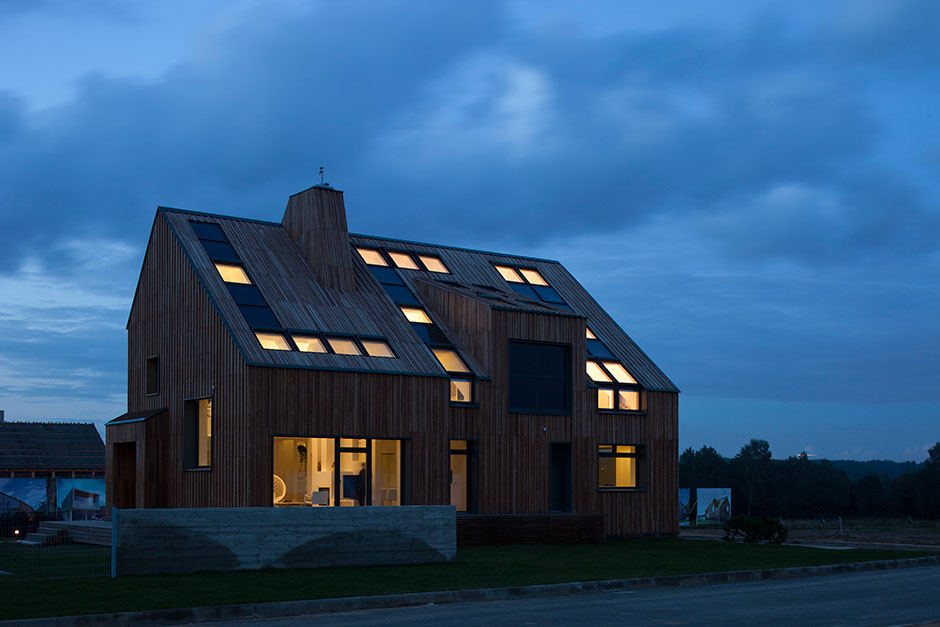 The First Active House In Russia Velux Cases