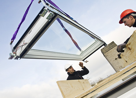 verri res modulaires velux pour l 39 habitat en toit plat velux. Black Bedroom Furniture Sets. Home Design Ideas