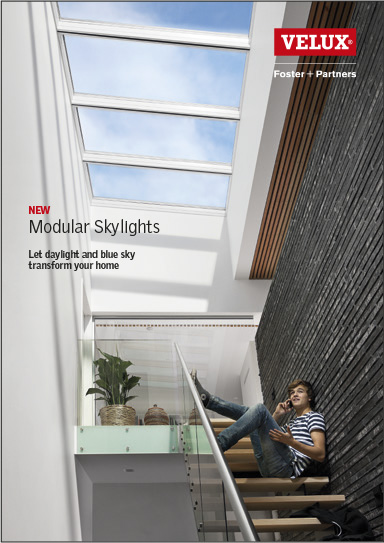 Velux modular skylights downloads and technical data for Velux customer support
