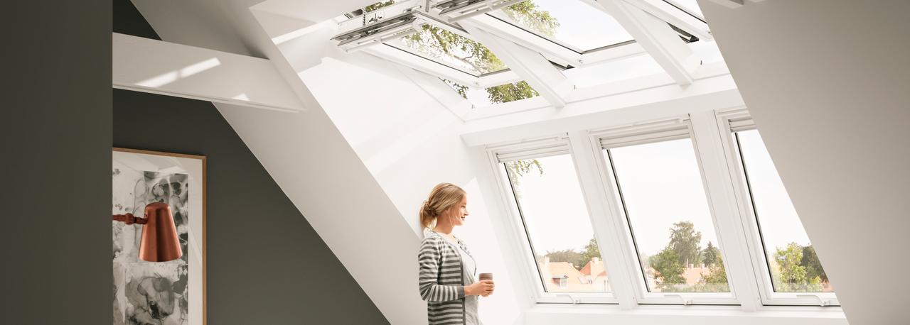 VELUX dakkapel : Meer ruimte, daglicht en frisse lucht op zolder met ...