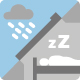 Less rain noise icon
