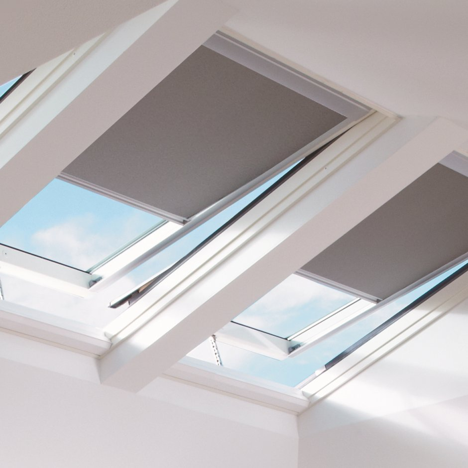 Velux blinds for Velux skylight control rod