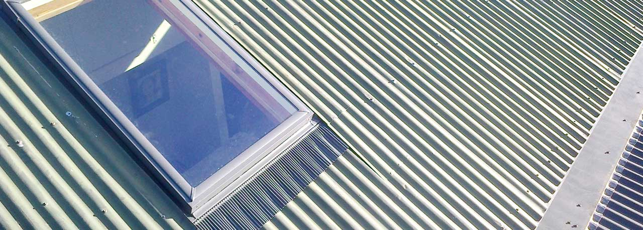 Skylight Tile Metal Flashing