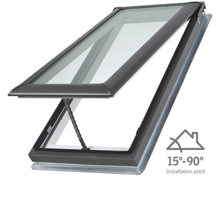 Velux skylights low pitch skylights roof windows sun for Velux sun tunnel installation manual