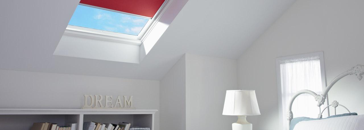 puits de lumi re fixe velux mont sur cadre ou avec cadre int gr. Black Bedroom Furniture Sets. Home Design Ideas