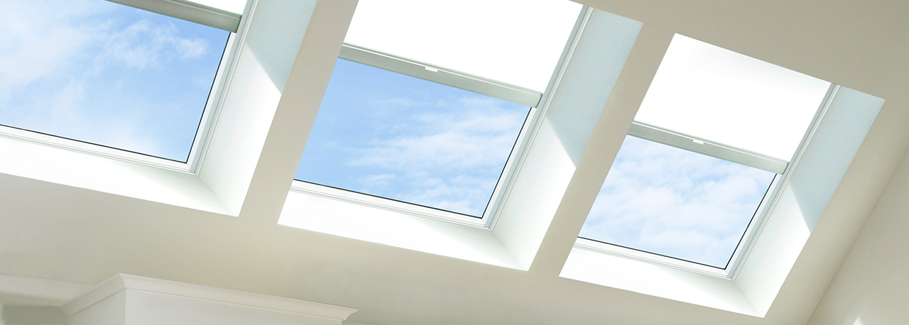 Velux skylight solar blinds solar shades for Velux solar skylight tax credit