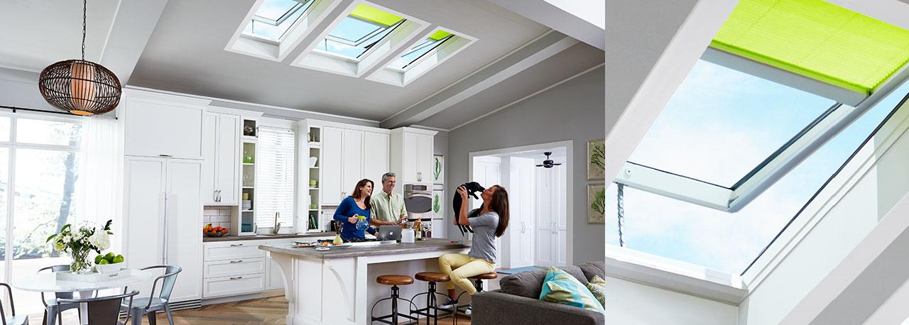 kitchen skylights fresh air