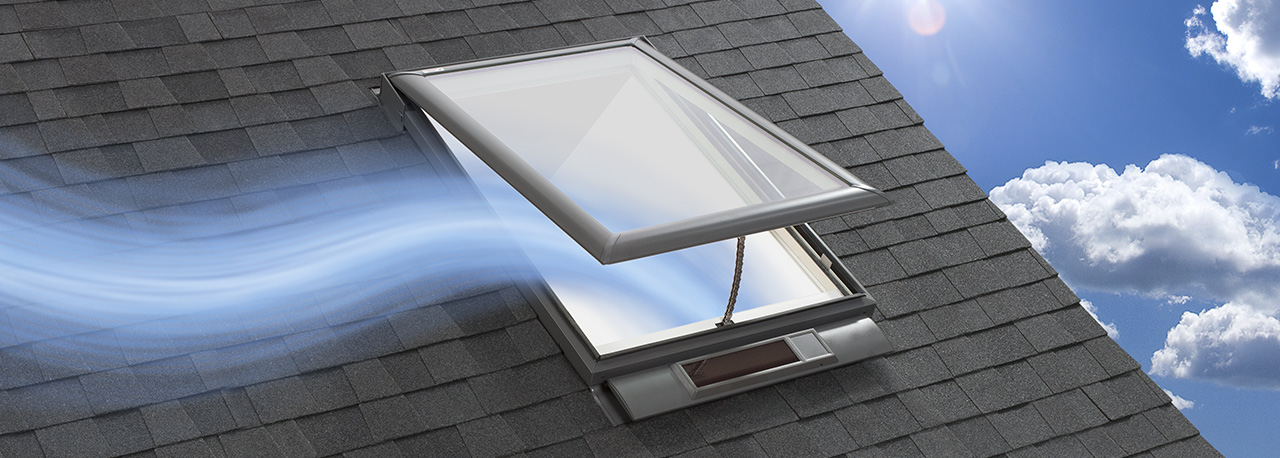 Fresh air vent for house simple easy diy fall fixups with for Velux skylight remote control troubleshooting