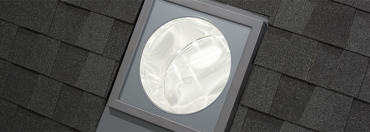 flat roof sun tunnel skylights