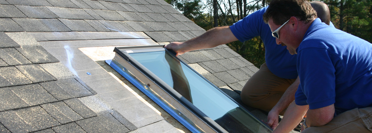 how to install a skylight tube kit