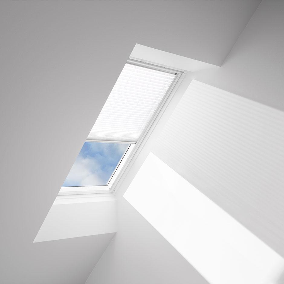 Velux light filtering skylight blinds solar and manual for Velux customer support