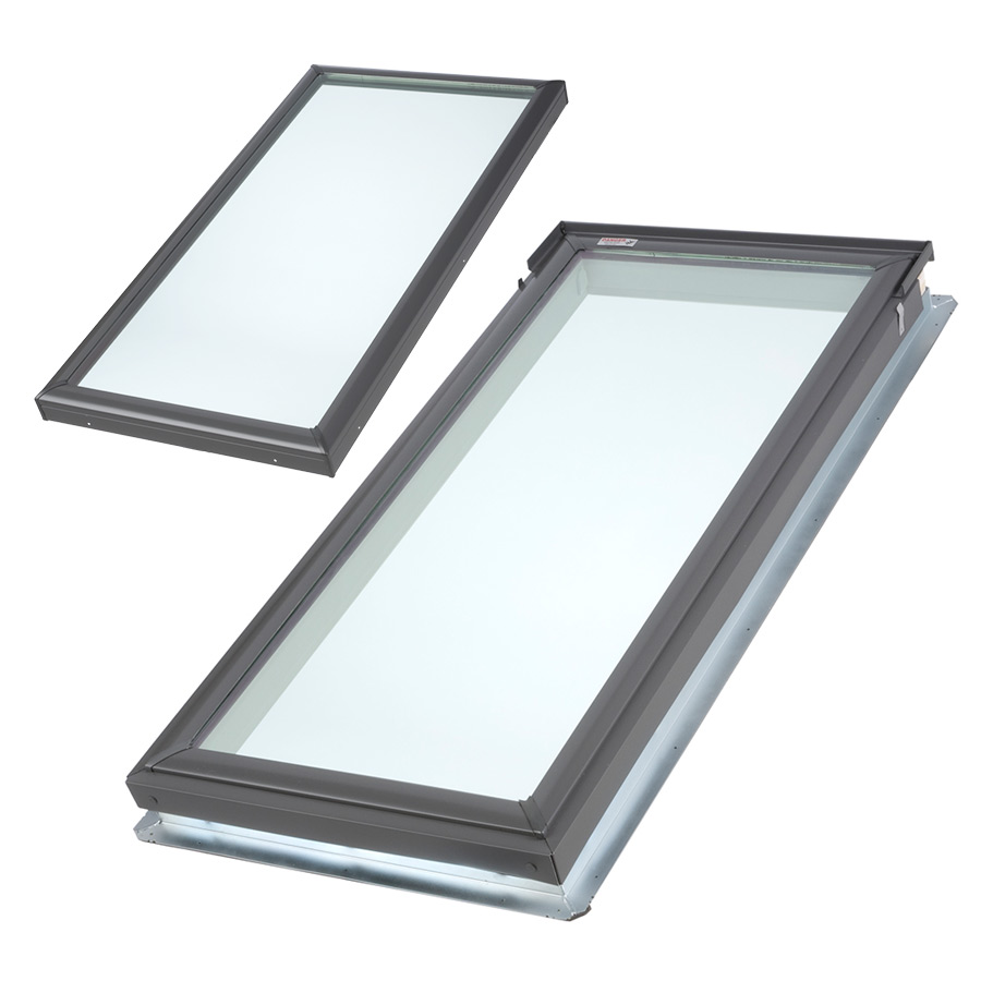 velux fixed skylight deck or curb mounted. Black Bedroom Furniture Sets. Home Design Ideas