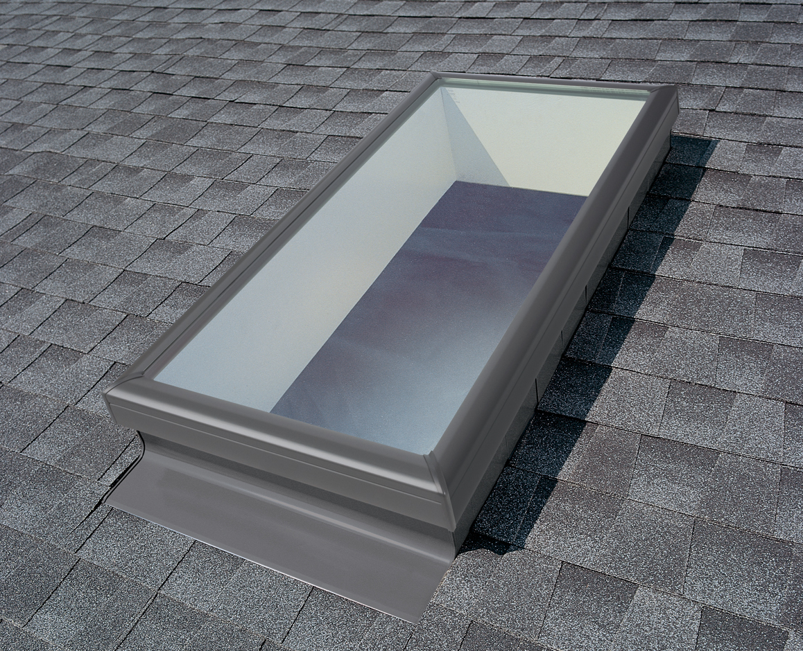 Velux Skylight Flashing Systems For Roofs Deck And Curb