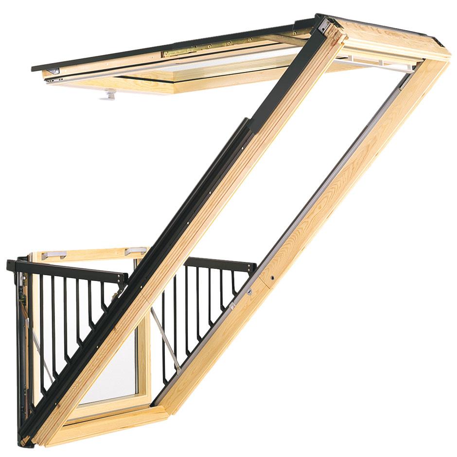 Fen tres de toit velux fen tre de toit pivotante for Fenetre de toit balcon