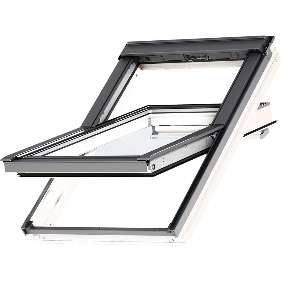 Center Pivot Roof Window