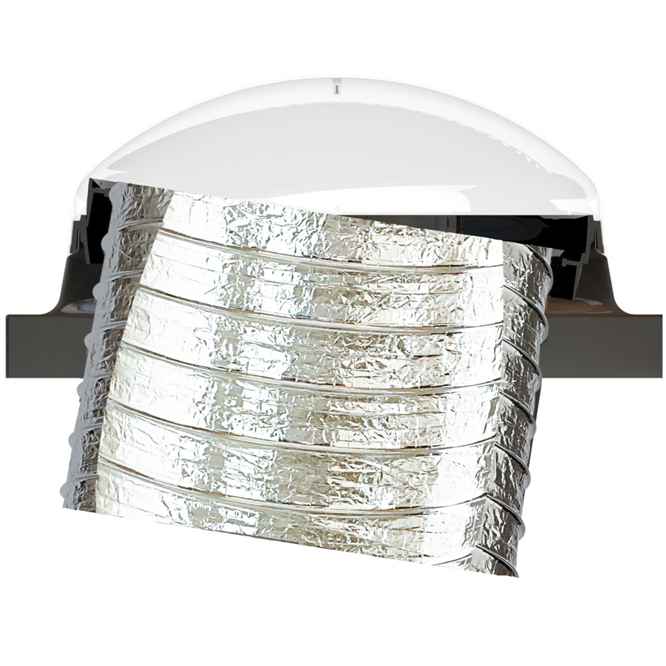 Velux Sun Tunnel Flexible Skylights Pitched Low Profile