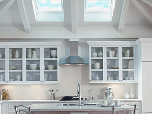 Kitchen With VELUX Skylights
