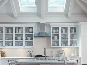 Beau Kitchen With VELUX Skylights