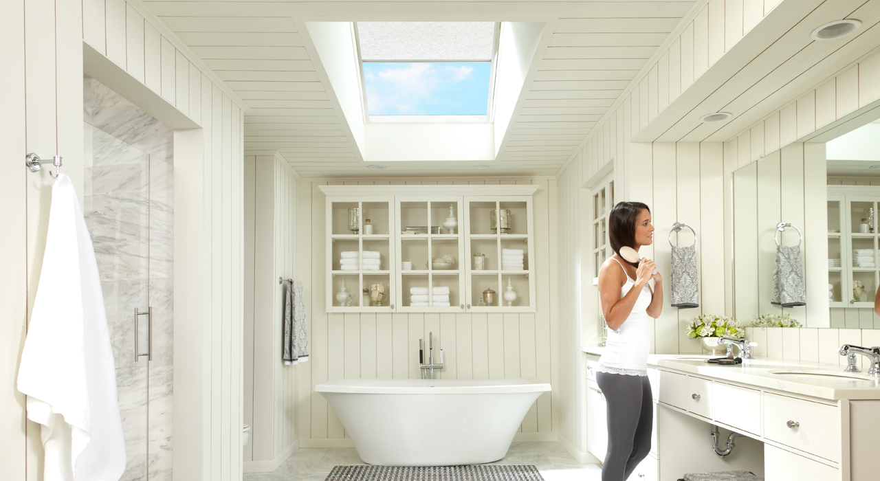1 X Velux Fixed Skylight Read More Bathroom Ideas