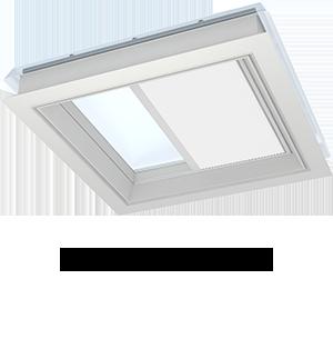 tende oscuranti plissettate per finestre per tetti piani velux