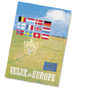 1958: The VELUX Group expands into Europe and is now present in 11 countries.