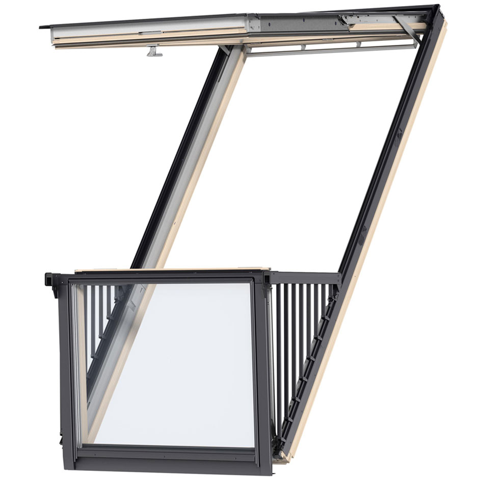 VELUX Roof Windows | Top-Hinged | Center-Pivot | Roof ...