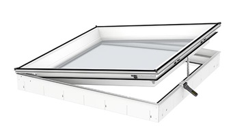 VELUX Curved-glass-rooflight base unit