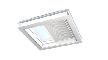VELUX translucent pleated blind