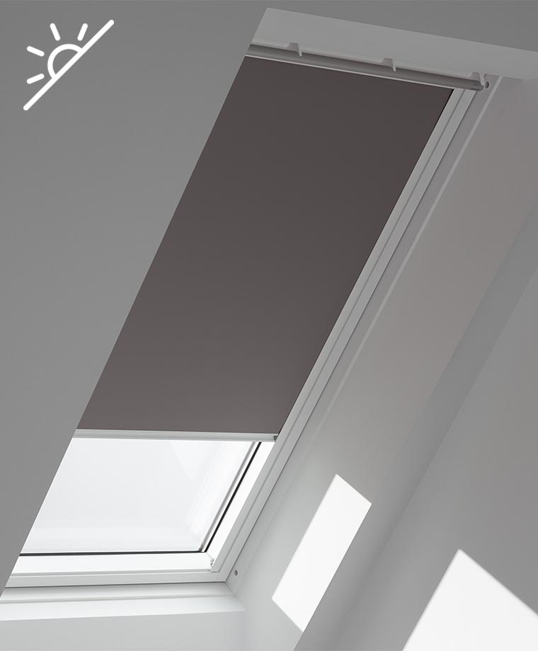 Dimming Roller Blind Thermal SKYLIGHT BLIND for VELUX GGL//GPL//GHL-Pale Yellow