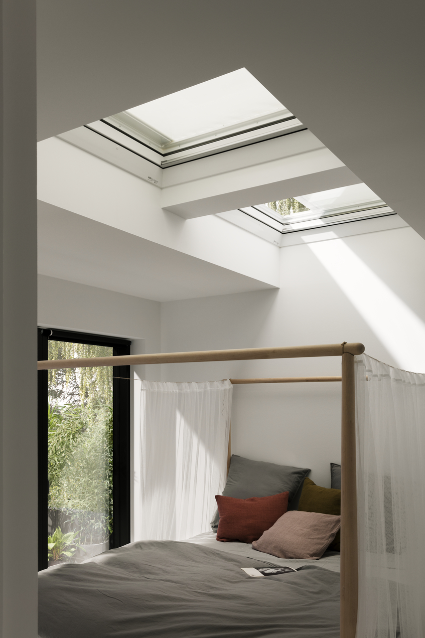 VELUX awning blinds for flat roof windows