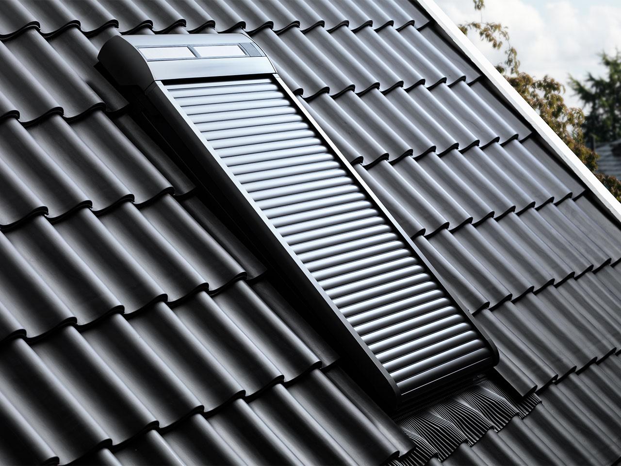 Dachfenster Rollladen Fur Aussen Velux