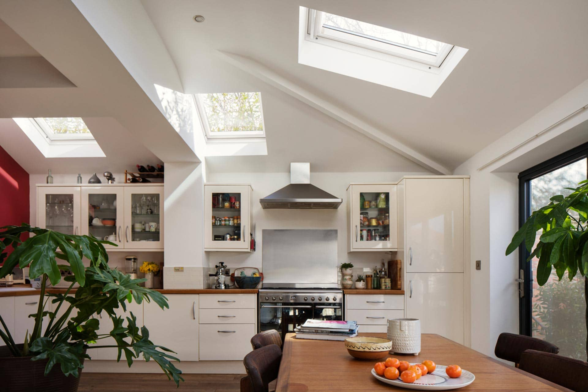 VELUX extensions, kitchen extension, single storey extension, house extension ideas