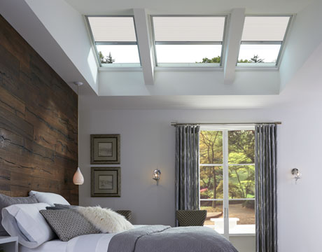 Velux Skylight Blinds Factory Installed Special Order