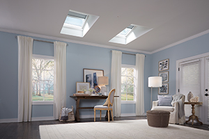 VELUX Go Solar Products are a cost effective way to add natural light