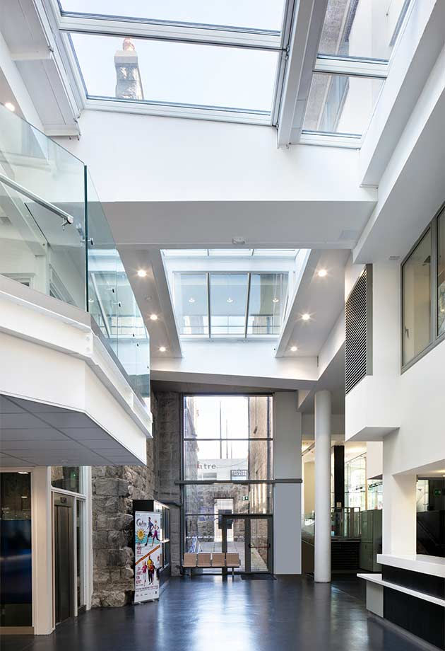 VELUX Modular Skylight Solution council building