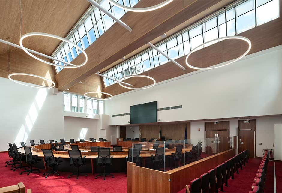 VELUX Northlights in Dún-Laoghaire-Rathdown County Council Chambers