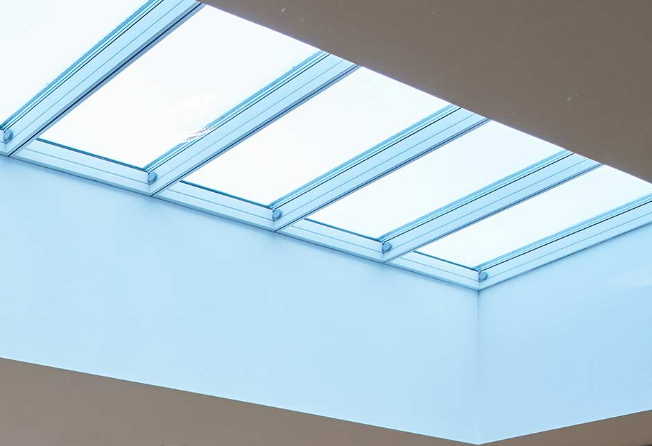 Rooflight solution with Longlight 5-30˚ modules, Energy company, The Netherlands