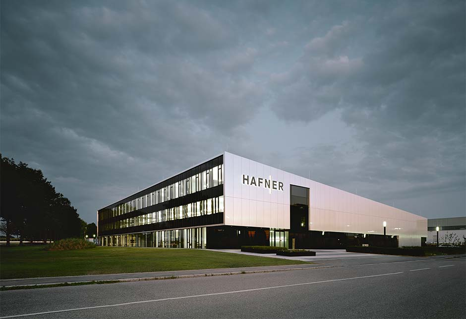 External view of Philipp Hafner company building Fellbach, Germany