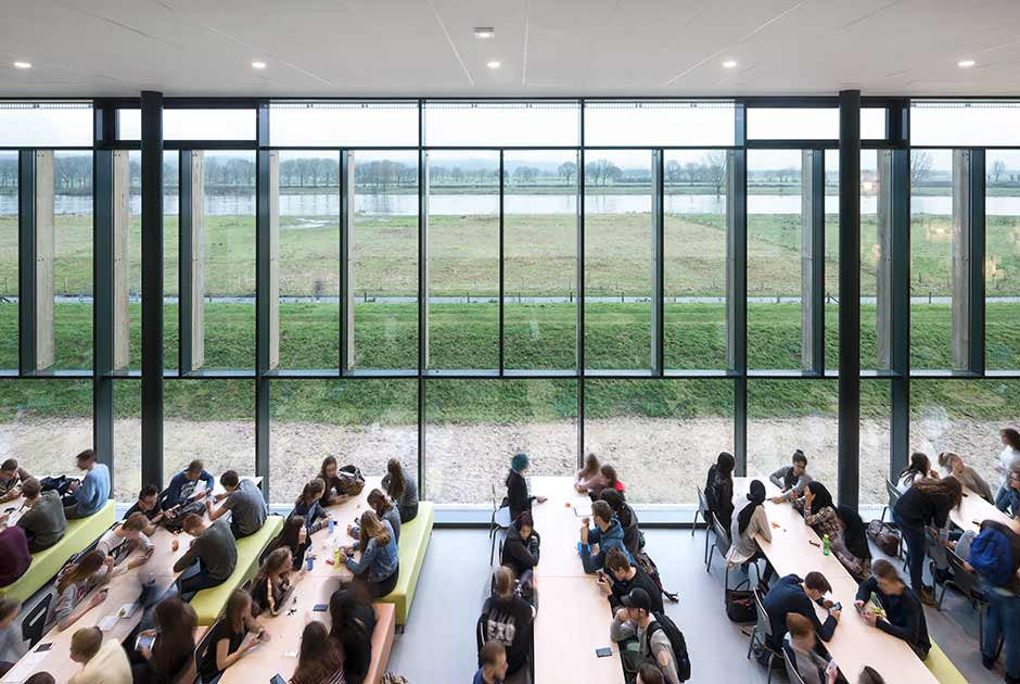 Interior of Merlet college, Cuijk, The Netherlands