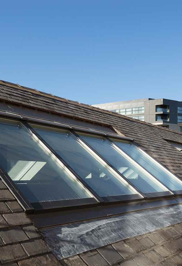 VELUX Modular Skylights im North East Futures University Technical College