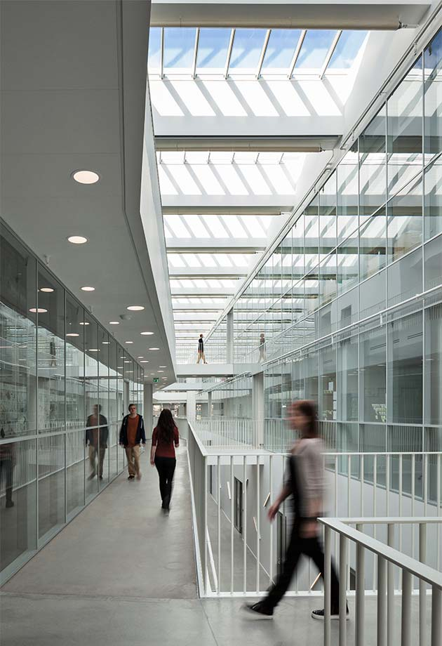 Rooflight solution with Longlight modules at the University of Southern Denmark