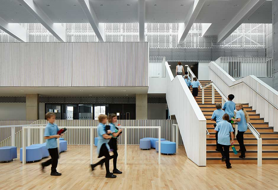 Skylight solution at Trumpington College – Photographer Jack Hobhouse