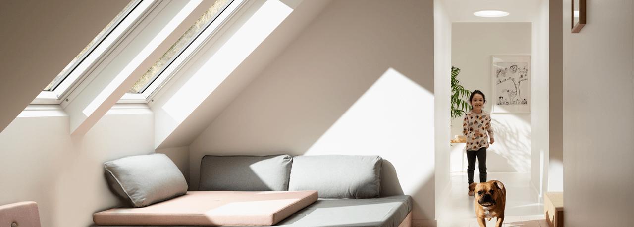 Lösungen Mit VELUX Dachfenstern Und VELUX Tageslichtspot