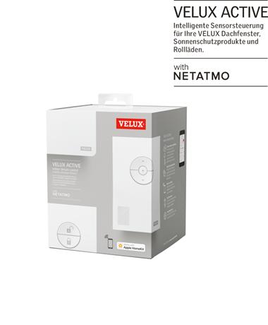 VELUX ACTIVE With NETATMO Raumklimasteuerung
