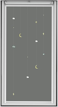VELUX Verdunkelungsrollos Disney & VELUX Goodnight Collection MObile