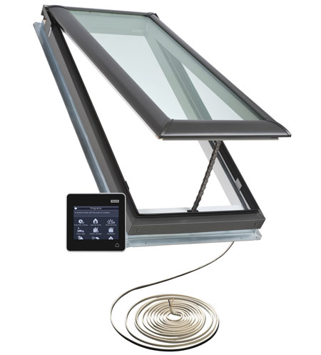 Venting Skylight With Remote